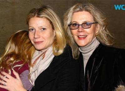 News video: Gwyneth Paltrow's Mom Praises Actress and Ex Chris Martin for